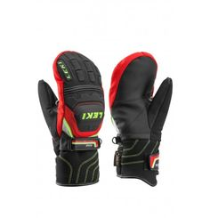 The mitten version of the Worldcup Race Flex S Junior GTX. Equipped with interior finger channels that give you have a strong grip even though you're wearing a mitten. This makes the racing mitten a good alternative to gloves for anyone who gets cold hands but doesn't want to impair their racing performance.