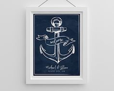 Personalized Poster (18x24) - Nautical | The Aspen Shops