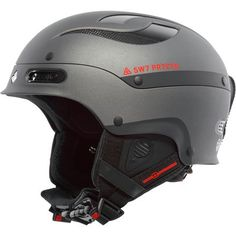 Slashing turns through the trees at 30 miles an hour and hucking yourself off big jumps in the terrain park without a helmet on really is risky business—give your brain some protection with the Sweet Protection Trooper Helmet. Made with a thermoplastic laminated carbon fiber shell, the Trooper is unique in its ability to withstand severe stress while maintaining enough flexibility to absorb energy efficiently. Behind the lightweight shell is EPS foam for increased safety and improved impact…