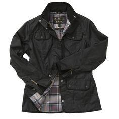 Barbour Women's Utility Waxed Cotton Jacket - Black - Nowells Clothiers