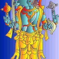 Dashavatar or dashavatara refers to the ten avatars of Lord Vishnu to restore the eradicate evil from earth and to restore the Dharma. Indian Folk Art, Lord Vishnu, Krishna Art, Mural Painting, Pencil Drawings, Collage Art, Avatar, Sketches, Oil
