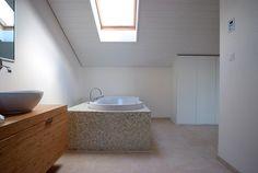 bathtub detail pully tangram design architecture   lausanne   fred hatt architecte   PORTFOLIO Lausanne, Architecture Design, Bathtub, Detail, Wood Construction, Standing Bath, Architecture Layout, Bathtubs, Bath Tube