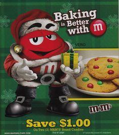 2013 magazine ad M&M's BAKING BETTER WITH #4 BIG  mms M&M candy print advert