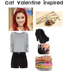 cat valentine | Cat Valentine Inspired Outfit - Polyvore
