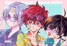 Otaku Anime, Anime Guys, Anime Art, Fanarts Anime, Anime Characters, Kagami Kuroko, Infinity Wallpaper, Infinity Art, Image Fairy Tail