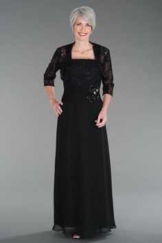 88924e94a5c Merrily Mother of the Bride 2 pc Black - size 26 - NWT! Orig  508