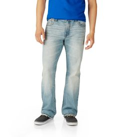Benton Boot Light Wash Jean from Aéropostale. #guysclothes