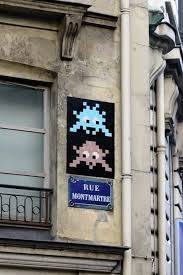 Image result for space invaders paris art