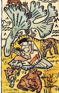 Oskar Kokoschka (Pöchlarn, Austria 1886~1980 Montreux, Switzerland) Klimt, Toulouse, Art Pictures, Art Images, Art Of Noise, Outsider Art, Gravure, Amazon Art, Contemporary Paintings