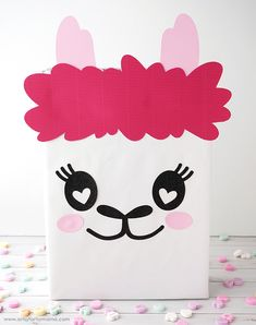 Llama Valentine Card Box and coordinating Llama Valentine Treat Boxes Valentine Boxes For School, Valentines Gifts For Boyfriend, Valentines For Kids, Valentine Day Crafts, Holiday Crafts, Holiday Fun, Diy Valentine's Box, Valentine's Day Diy, Creative Crafts