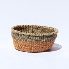 Hand woven basket from Kenya at Marcos and Trump East London boutique on Columbia Road