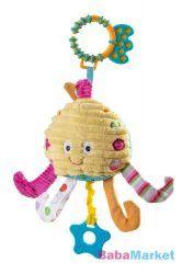 Babajáték - BabyOno plüss polip licslocs 1336 Tweety, Christmas Ornaments, Holiday Decor, Character, Home Decor, Art, Xmas Ornaments, Homemade Home Decor, Christmas Jewelry