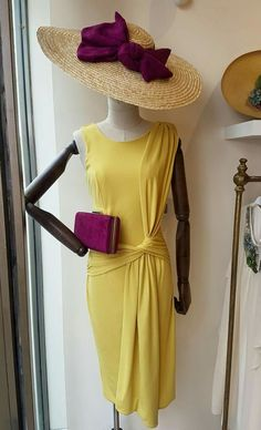 Outfits With Hats, Cute Outfits, Girl Fashion, Fashion Outfits, Womens Fashion, Yellow Clothes, Moda Vintage, African Wear, Who What Wear