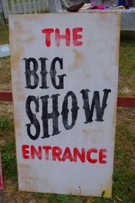 carnival sign painted - Google Search