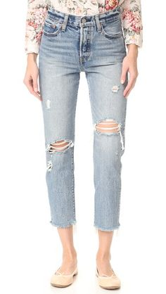 Levi's Wedgie Selvedge Straight Jeans | SHOPBOP