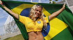 Soccer Fans, Football Fans, World Cup 2014, Fifa World Cup, Lionel Messi, Image Slideshow, Hot Fan, Images, Beautiful