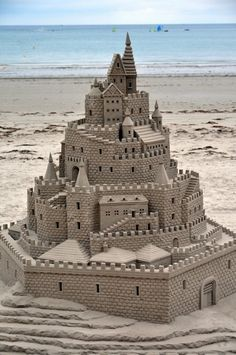 Sand Castle...what detail!