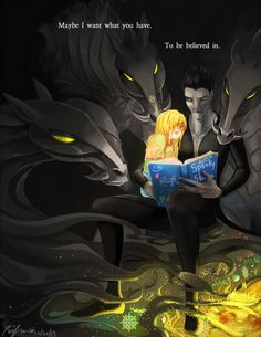 Maybe I want what you have. To be believed in. by porifra on @DeviantArt