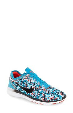 Nike 'Free 5.0 TR Fit 5 Print' Training Shoe (Women)   Nordstrom