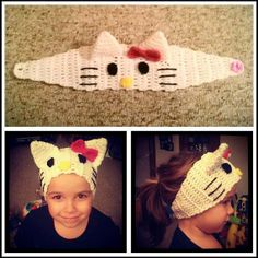 Character Crocheted Ear Warmers by JLDesigns123 on Etsy