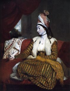Joshua Reynolds: Portrait of Jane Maltass (Mrs. Baldwin), 1782.