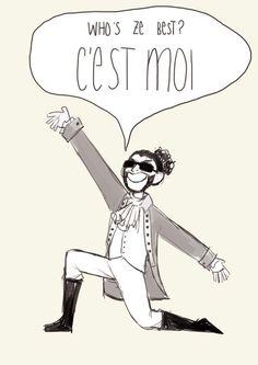 Lafayette/Daveed is the best!! ♡♡   Hamilton   Pinterest ...