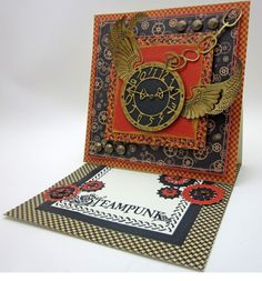 Get Your Steampunk On!!! - Created by Lori Williams of Pinkcloud Scrappers