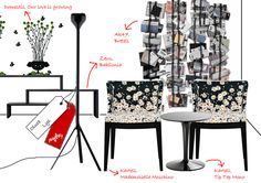 little black dress | #lamps #design #black #Euroluce