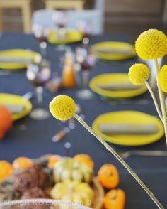 SPICY HALLOWEEN ... En ces veilles d'Halloween, réussir le pari de dresser une table aux couleurs d'Automne et Epicées ...