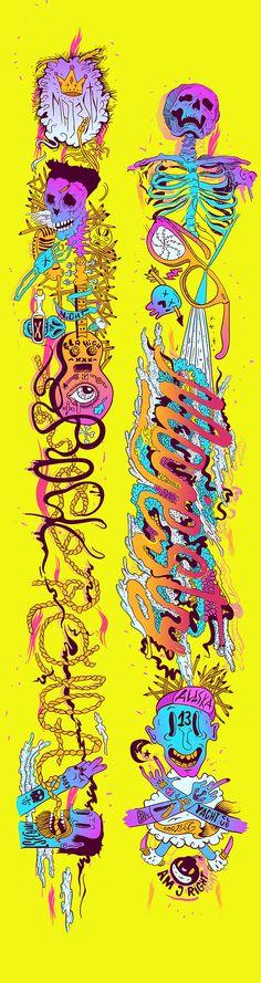 why_duck_majesty_06 Duck Illustration, Skull And Bones, Skull Art, Buttercup, Skulls, Graphic Art, Street Art, Clever, Doodles