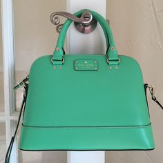Kate Spade New York Small Rachelle Wellesley Bud Green WKRU2485 $295 #katespade #Satchel