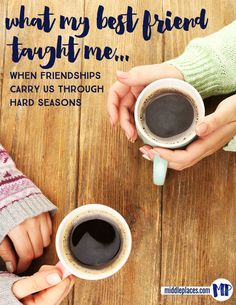 Having a friend who balances us out, who accepts us for who we are and loves us through our hard seasons ... it's a gift.