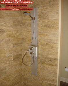 Custom Tower Shower Installation 404-918-5955