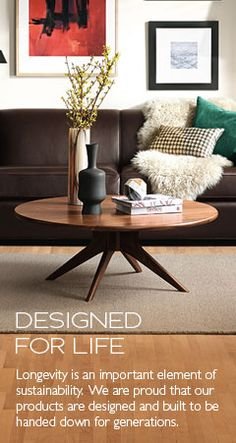 Modern Cocktail & Coffee Tables - Modern Living Room Furniture - Room & Board