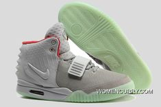 6e8c726458f1b Glow In The Dark Nike Air Yeezy 2  Wolf Grey Pure Platinum  Copuon Code. Online  OutletStore ...