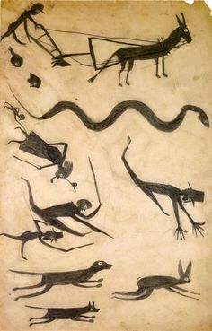 Bill Traylor (William Louis-Dreyfus Collection)