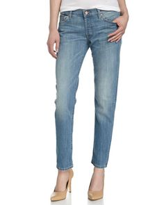 7 For All Mankind Josefina Skinny Boyfriend Jeans  90