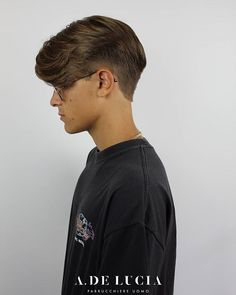 Mens Hair Haircuts Fade Haircuts short medium long buzzed side part long top short sides hair style hairstyle haircut hair color slick back mens hair trends disconnected. Pompadour Men, Pompadour Hairstyle, Undercut Hairstyles, Cool Hairstyles, Men Undercut, Style Hairstyle, Disconnected Undercut Men, Medium Undercut, Hairstyles 2018