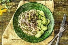 Thailändisches Rindercurry mit Kokosmilch,
