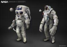 ArtStation - NASA: Garrison & Conscript, jarold Sng