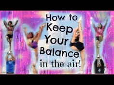 ▶ Cheer - How To Keep Your Balance In Stunts! - Tips And Drills For Flyers - YouTube