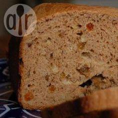 Foto recept: Kaneelbrood uit de broodbakmachine