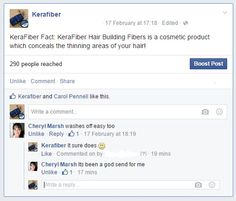This is what we do BEST #Lifesavers #GodSent #KeraFiber #HappyCustomer #Facts
