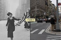 16 Amazing Then And Now Pictures Of New York City
