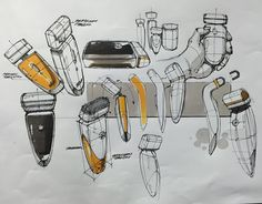 Product Idea Sketch(Electric Razor) BOOK Sale - If you want to buy... amazon.com…