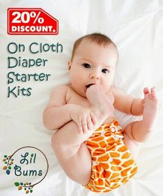 Lil Bums Cloth Diaper Giveaway - ends 8/15