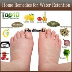 Check Out these Top 10 remedies for water retention. Sometimes all you need is a little natural healing to get your body back into balance. Nutrition is everything! Natural Health Remedies, Natural Cures, Natural Healing, Herbal Remedies, Holistic Remedies, Natural Diuretic, Natural Detox, Health And Beauty Tips, Health And Wellness