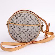 65201cb42686 Louis Vuitton Jeanne Mini Lin Monogram 2266 Blue Cross Body Bag. Get the  trendiest Cross