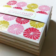 packaging - @Pamela Culligan Baker - for your etsy store - would be so easy to do!