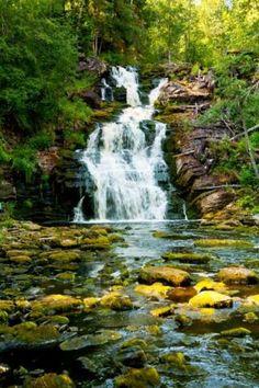 Республика Карелия пейзаж - Google-haku Waterfall, Landscape, Google, Travel, Outdoor, Outdoors, Scenery, Viajes, Waterfalls